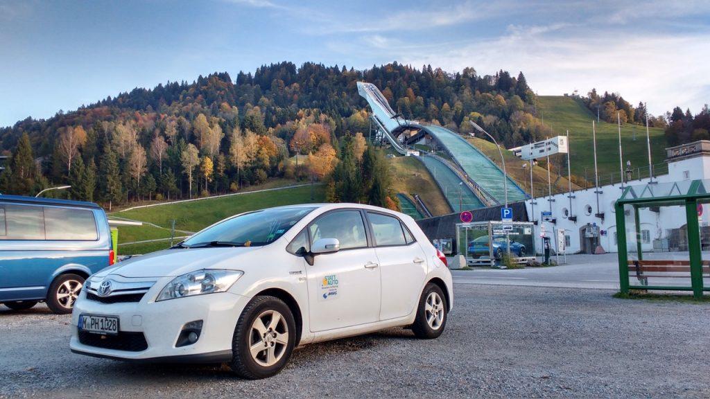 Olympia-Skistadion in Garmisch-Partenkirchen 2017